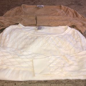 Women's loft sweater lot